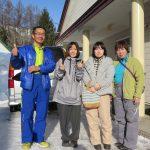 初日は五竜47で、もう1日は岩岳で滑りました。