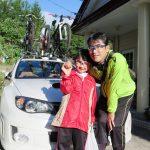 岩岳の自転車大会、いい成績で良かったですね。